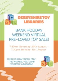 Bank Holiday Toy Sale
